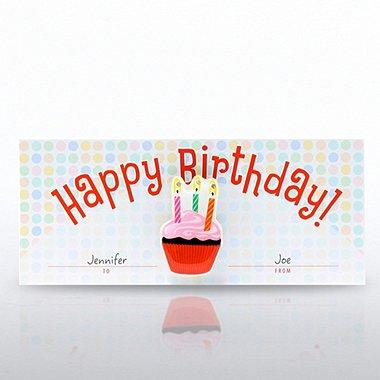 LED Lapel Pin - Happy Birthday!