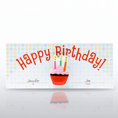 Happy Birthday! LED Lapel Pin
