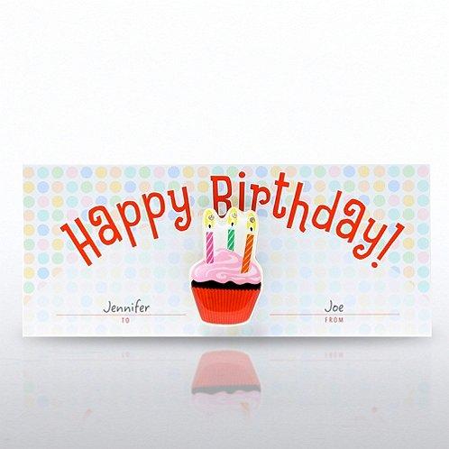 Happy Birthday! LED Lapel Pin