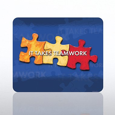 Mouse Pad - It Takes Teamwork
