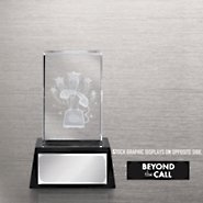3-D Crystal Trophy - Phone: Beyond the Call