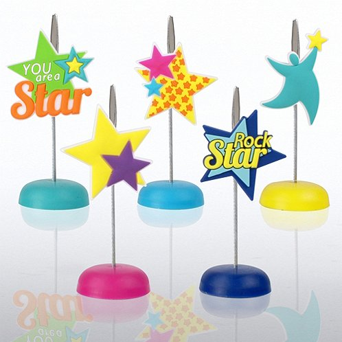 You Are a Star PVC Memo Clip Pack