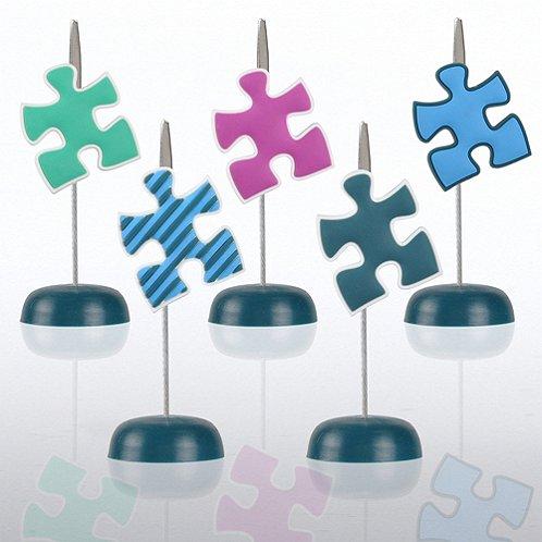 Blue Essential Piece PVC Memo Clip Pack
