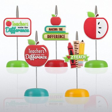 PVC Memo Clip Pack - Teachers Make the Difference