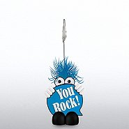 Goofy Guy Memo Clip Holder - You Rock