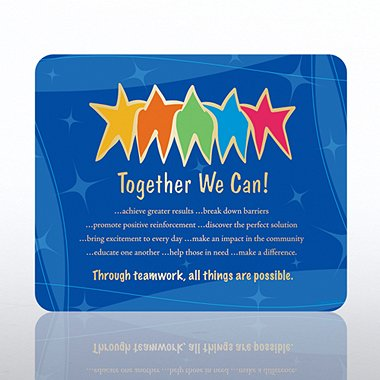 Mouse Pad - Together We Can
