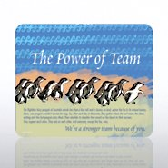 Mouse Pad - Penguin: Power of Team