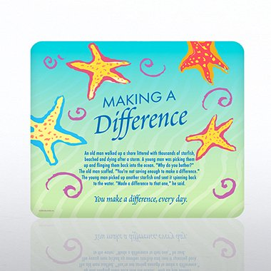 Mouse Pad - Starfish: Making a Difference
