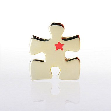 Lapel Pin - Essential Piece with Star