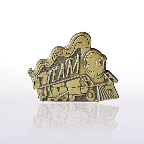 Full Steam Team Lapel Pin