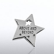 Lapel Pin - Milestone - Above & Beyond Star
