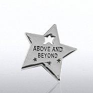 Lapel Pin - Milestone - Above & Beyond Star