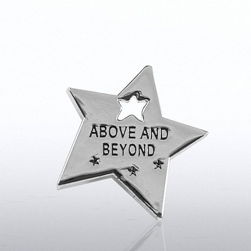 Above & Beyond Star Milestone Lapel Pin