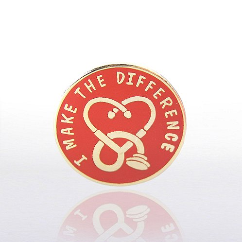 I Make the Difference Medical Lapel Pin