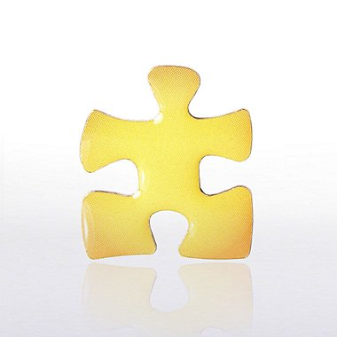 Lapel Pin - Essential Piece Yellow