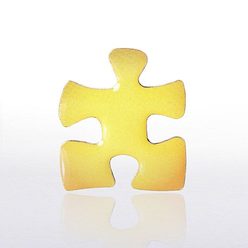 Essential Piece Yellow Lapel Pin