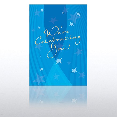 Spotlight Stars Aniversary Greeting Card