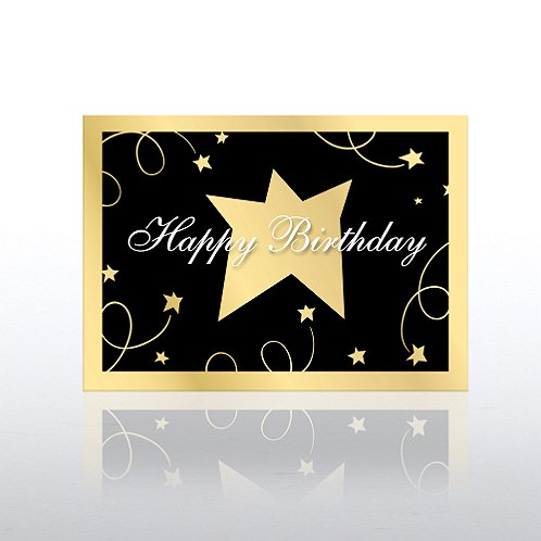 Black Tie Birthday Greeting Card