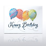 Grand Events - Colorful Silver Drizzle Balloons