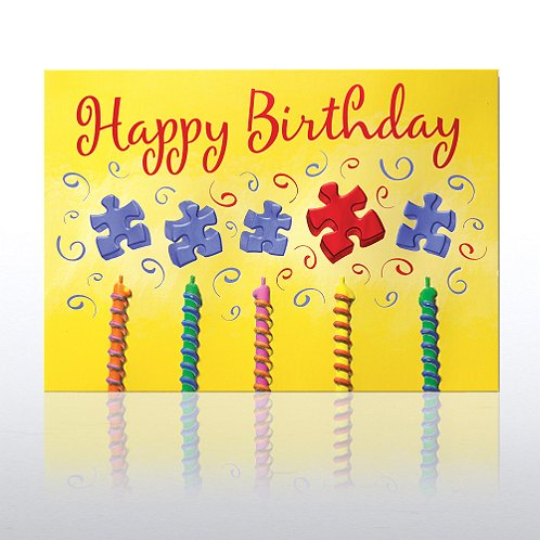 Essential Piece Candles Greeting Card
