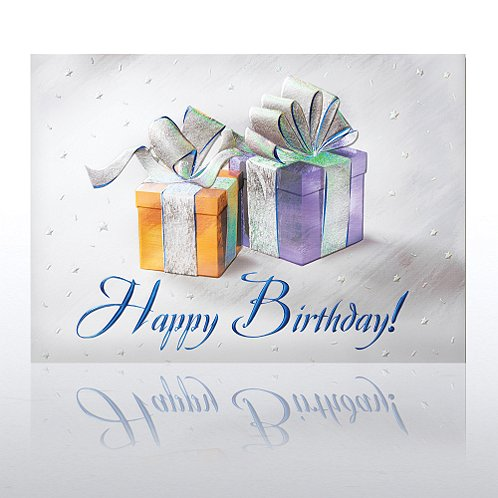 Birthday Presents Greeting Card