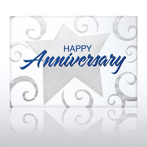 Anniversary Stars Greeting Card