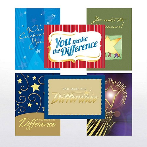 You Make the Difference Greeting Card Assortment