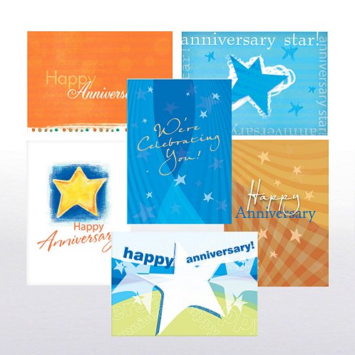 Happy Anniversary Greeting Card Assortment