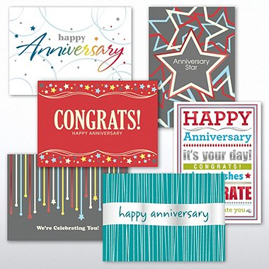 Classic Celebrations - Contemporary Happy Anniversary Asst