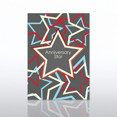 Anniversary Star Aniversary Greeting Card