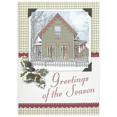 Holiday Greeting Card - Gingerbread House