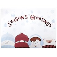 Holiday Greeting Card - Winter Children Season's Greeting