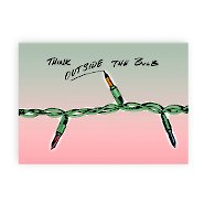 Holiday Greeting Card - Thinking Outside the