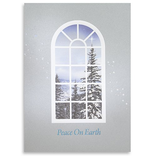 Peace on Earth Holiday Greeting Card