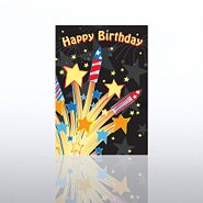 Classic Celebrations - Happy Birthday Fireworks