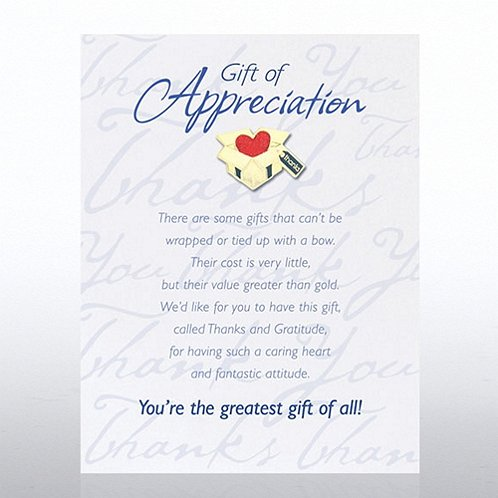 Gift: Gift of Appreciation Character Pin