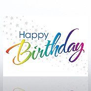 Grand Events - Happy Rainbow Birthday