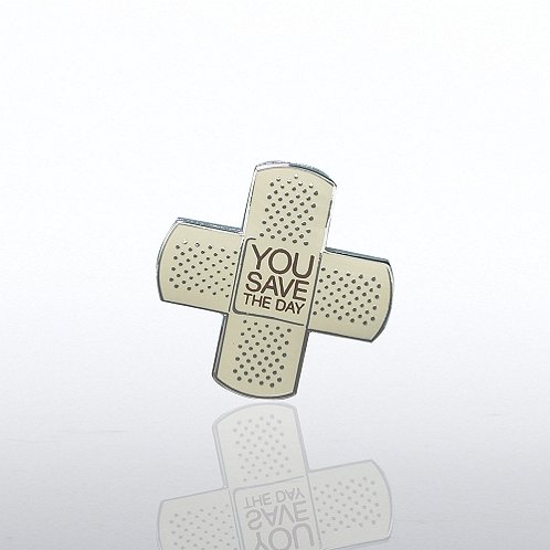 You Save the Day Lapel Pin
