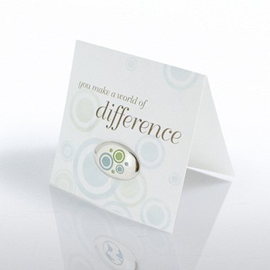 Marks of Appreciation - You Make World of Difference Bubbles