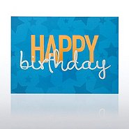 Grand Events - Happy Birthday - Blue