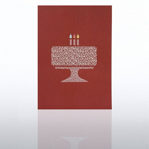 Cake Happy Birthday Greeting Card
