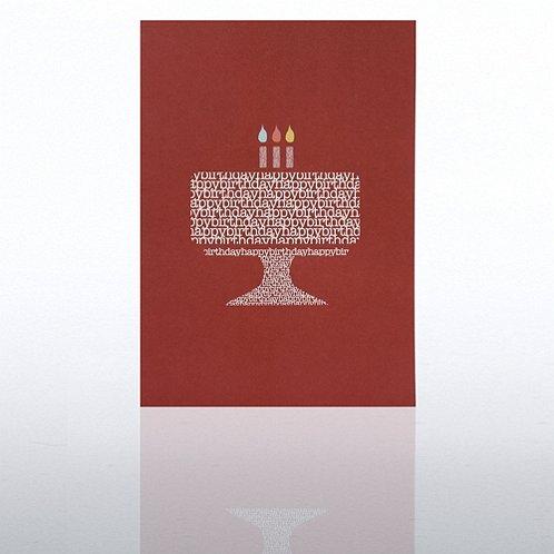 Cake Happy Birthday Greeting Card