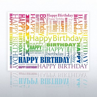 Grand Events - Happy Birthday - Rainbow
