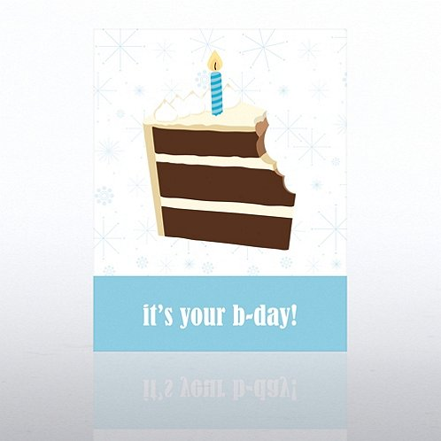 Birthday Cake Happy Birthday Greeting Card
