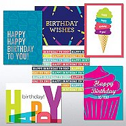 Classic Celebrations Birthday Joy Greeting Card Assortment