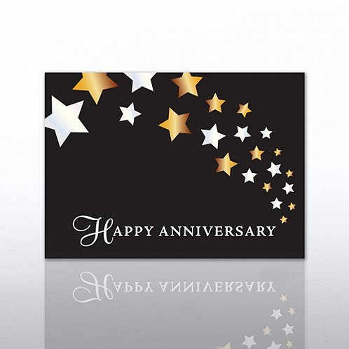 Stary Trails Anniversary Greeting Card