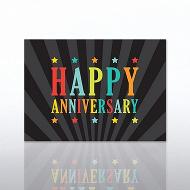 Classic Celebrations - Happy Anniversary - Multi Color