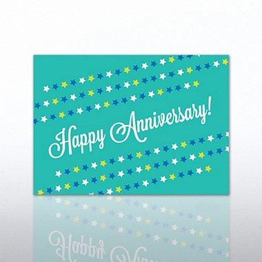 Classic Celebrations - Happy Anniversary - Star Banner