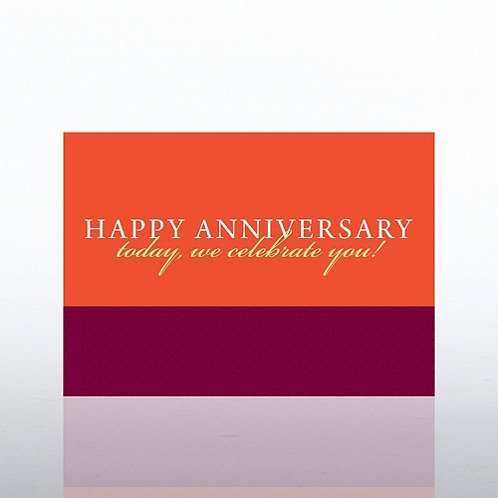Words Anniversary Greeting Card