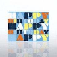 Classic Celebrations - Contemporary Birthday - Words